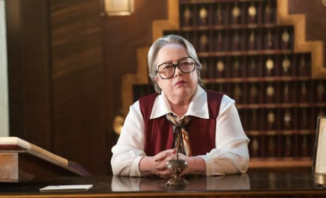 Kathy Bates on American Horror Story: Hotel