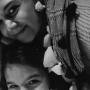 Katie Holmes and Suri Cruise, Black and White Selfie