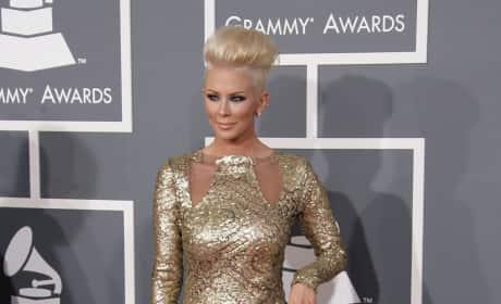 Jenna Jameson at the Grammys