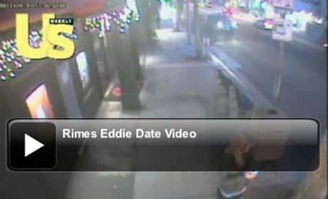 LeAnn Rimes and Eddie Cibrian Making Out
