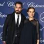 Natalie Portman & Benjamin Millepied Attend Awards Ceremony