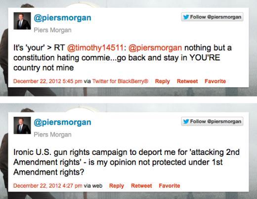 Morgan Tweets