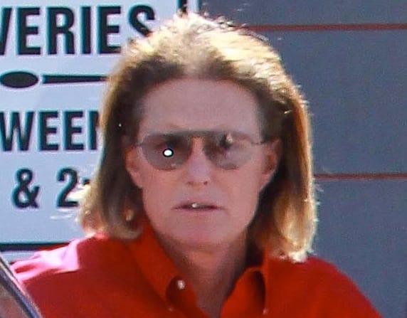 Bruce Jenner With Longer Hair
