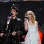 Taylor Swift and John Mayer Performing Together Photo