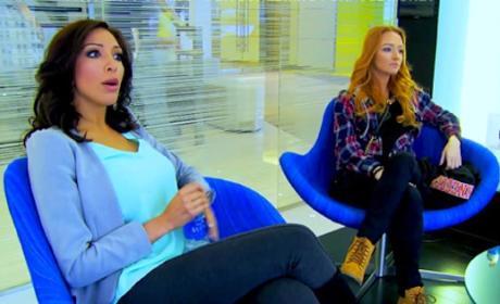 Farrah and Maci on Teen Mom: OG