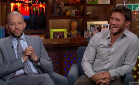 Scott Eastwood Calls Out Ashton Kutcher Cheating