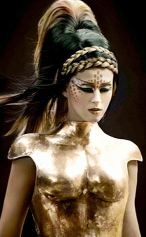 Bronzed Goddess