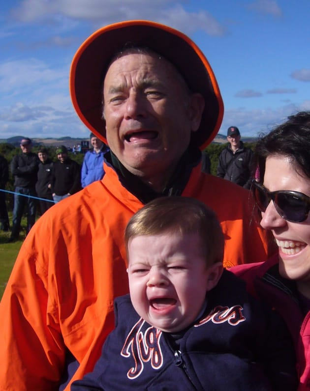 Bill Murray, Crying Baby