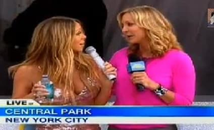 Mariah Carey Suffers Wardrobe Malfunction, Curses on Good Morning America