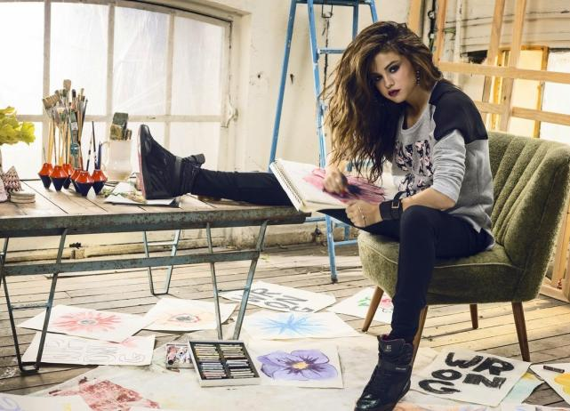 Selena Gomez adidas Neo legs
