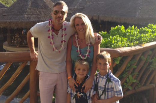 Britney Spears Family Photo