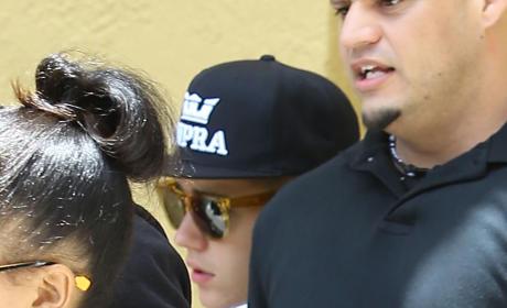 Justin Bieber in Hiding