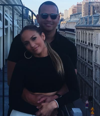 Jennifer Lopez and Alex Rodriguez on Vacation