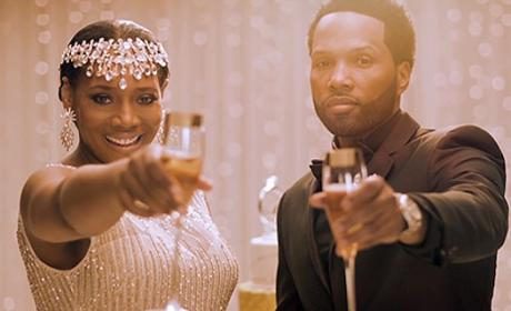 Yandy Smith and Mendeecees Harris