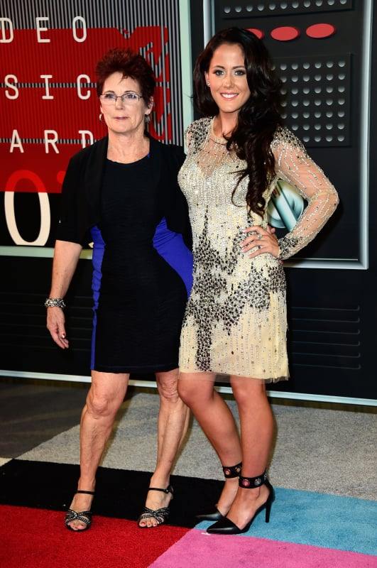 Jenelle evans with barbara evans