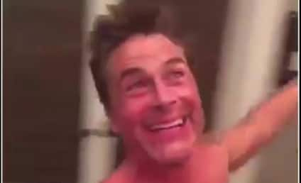 Rob Lowe Goes Shirtless, Spins Around, Sings Sound of Music
