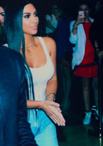 Kim Kardashian Goes Out
