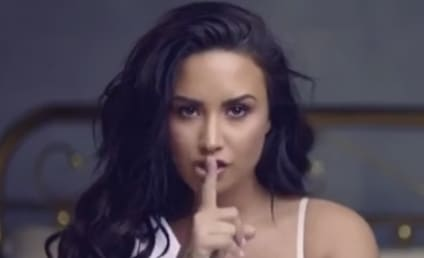 Demi Lovato Announces New Tour in Sexy White Lingerie