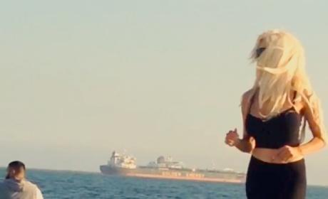 Courtney Stodden Baywatch Run