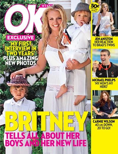 Britney Spears, Sean Preston and Jayden James