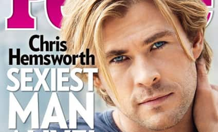 Chris Hemsworth: People's Sexiest Man Alive 2014!