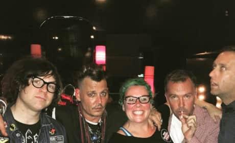 Johnny Depp, Doug Stanhope, Ryan Adams