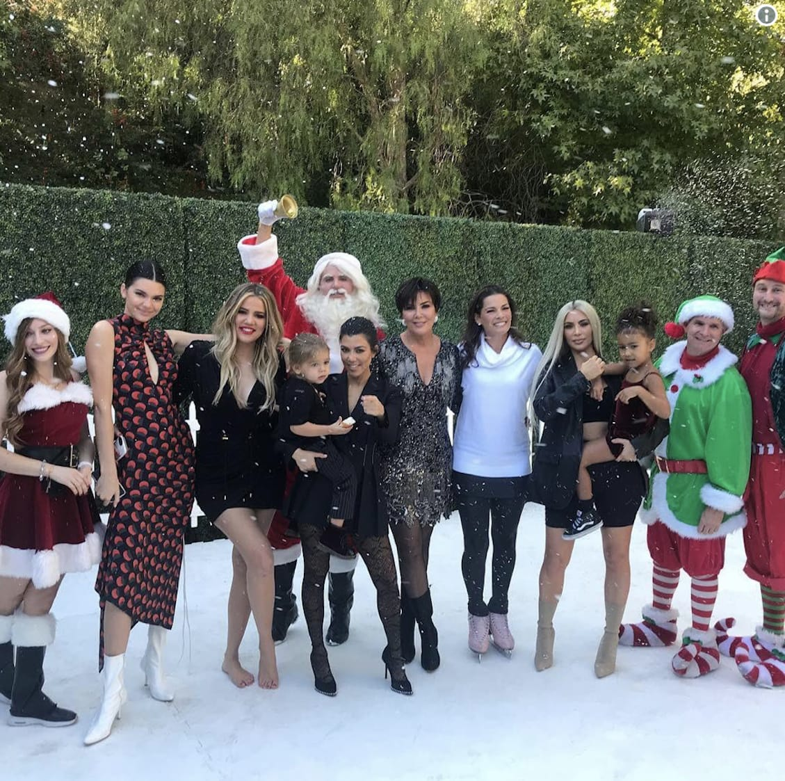 Kardashian Christmas Photo Released... But Where\'s Kylie?!? - The ...