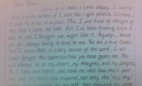 Eminem's Letter to Tupac's Mom