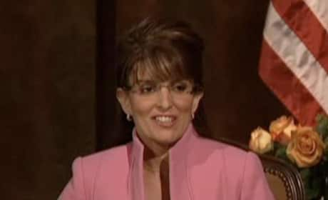 Sarah Palin Talks to Katie Couric