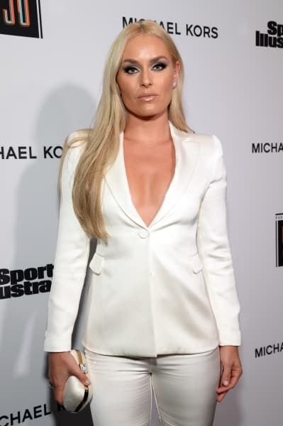 Lindsey Vonn in White