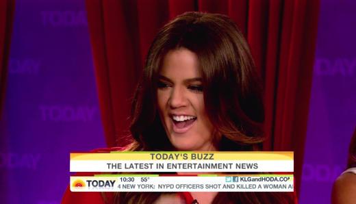 Khloe Kardashian on Today