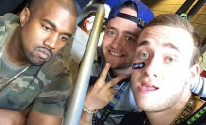 Kim Kardashian, Pissed Off Kanye West Featured In Hilarious Super Bowl Selfies