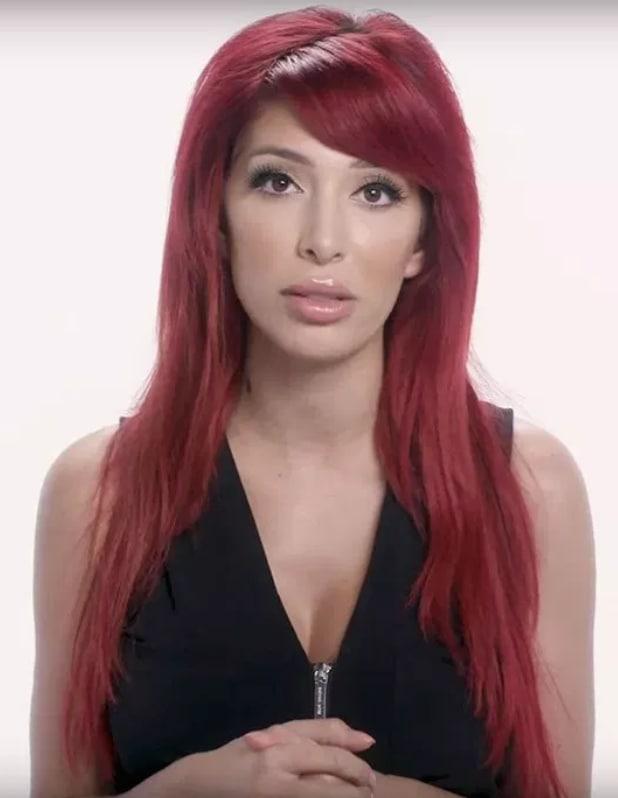 Farrah abrahams red hair