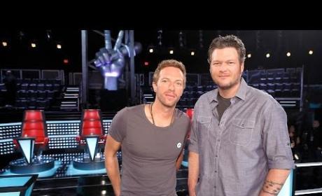 Chris Martin on The Voice (Sneak Peek)