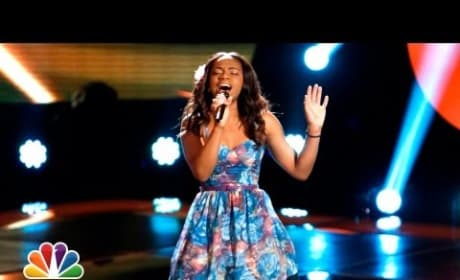 Timyra-Joi - Girl on Fire (The Voice Blind Audition)