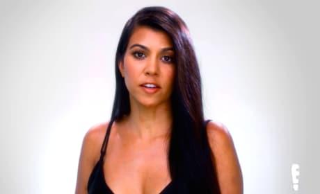 Kourtney Kardashian Has Something to Say