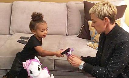 North West and Ellen DeGeneres: Unexpected BFF Alert!