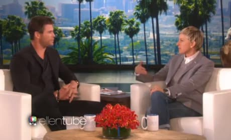 Chris Hemsworth Talks Family With Ellen DeGeneres