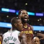 Tristan Thompson Gets Angry