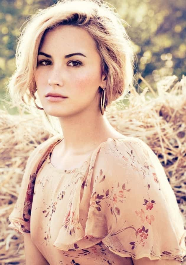 Demi Lovato Face