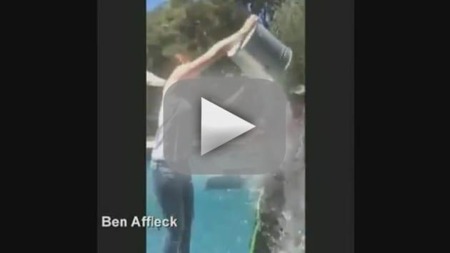 Ben Affleck Accepts Ice Bucket Challenge