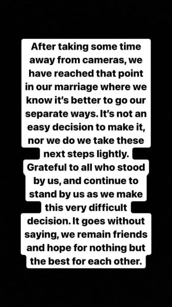 split statement