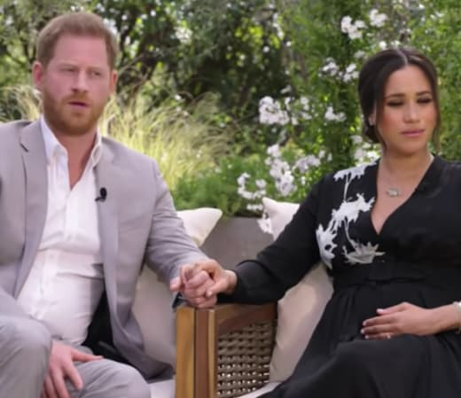 Meghan Markle and Harry Interview Pic