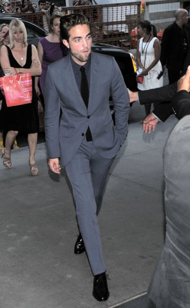 Robert Pattinson Strutting