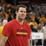 Kris Humphries At The Atlanta Hawks v Cleveland Cavaliers