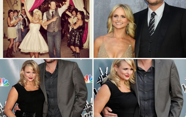 Miranda lambert and blake shelton wedding pic