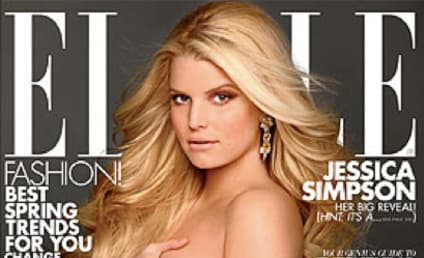 Jessica Simpson: Nude, Pregnant in Elle!