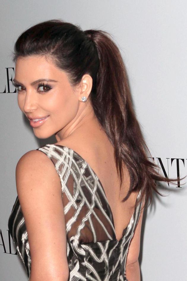 Kim Kardashian on Rodeo Drive