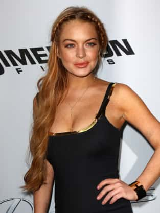 Lindsay Lohan at Film Premiere