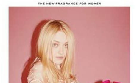 Is this Dakota Fanning ad too racy?